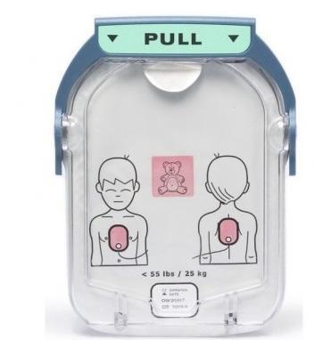 Electrodos pediátricos para desfibrilador AED Philips HeartStart HS1