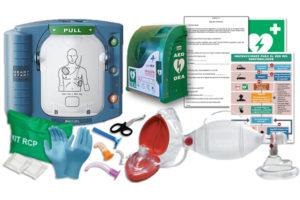 Comprar desfibrilador Philips HeartStart HS1 para Clínica dental
